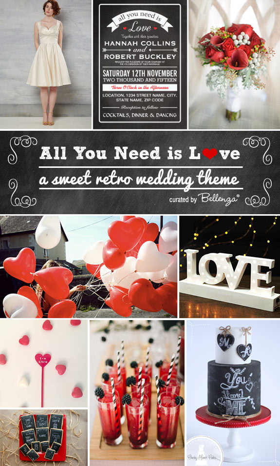 All You Need is Love Wedding Theme!