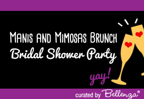 Manis and Mimosas bridal shower ideas