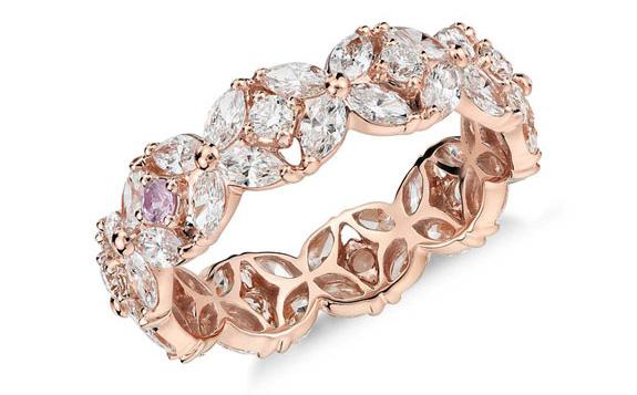 Monique Lhuillier Petal Garland Ring