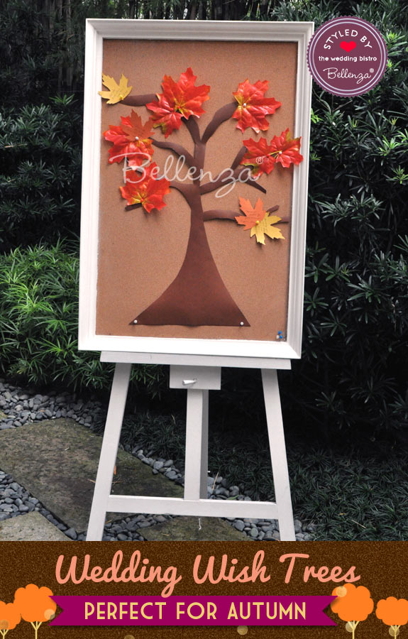 Fall Wedding Wish Tree from Bellenza