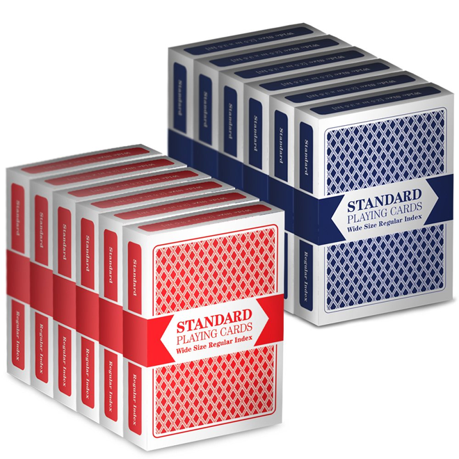 Regular Index Playing Cards Set