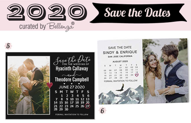 Rustic Save the Dates for 2020