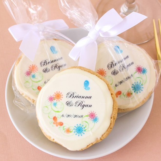 Spring cookie favors