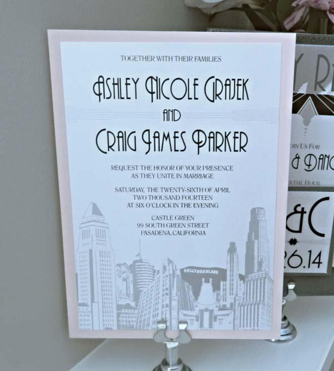 LA Cityscape Invitation