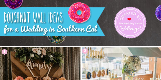 Donut display ideas and vendors in Southern Cal