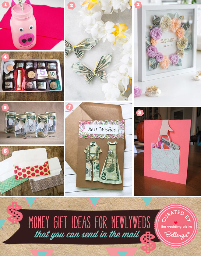 Money Gift Ideas for Newlyweds to Send in the Mail