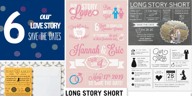 Save the Dates for Telling Your Love Story