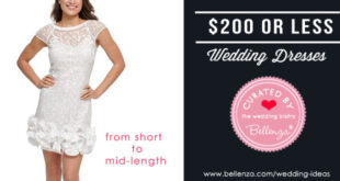 Affordable Dress Choices for the Modern Bride