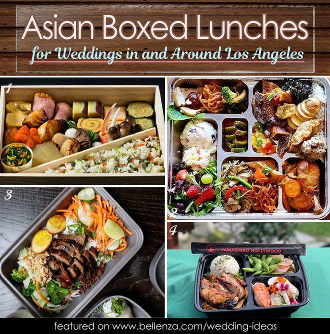 Asian boxed lunches in and around Los Angeles