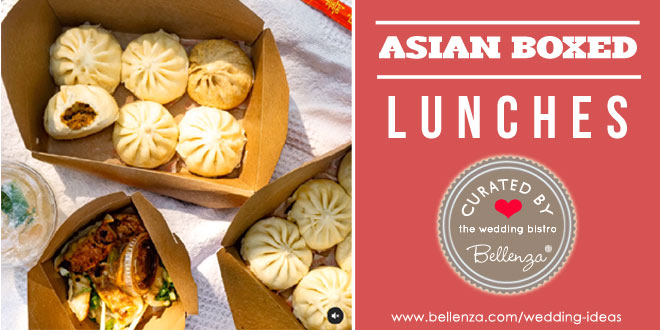 Boxed Asian lunches from Chinese to Filipino Cuisine for LA Weddings