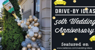 Drive-by 50th Wedding Anniversary Parade Ideas