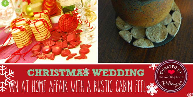 Christmas wedding at home planning ideas