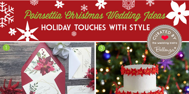 Poinsettia Christmas Wedding Ideas