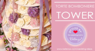 Torte Bomboniere Tower for Wedding Favors