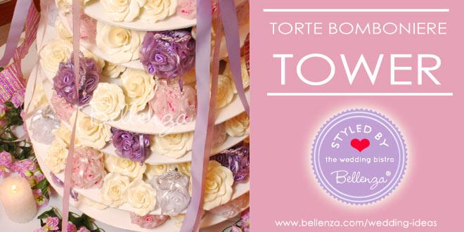 Torte Bomboniere Tower for Wedding Favors