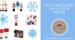 Hot chocolate on a stick or spoon to buy or make