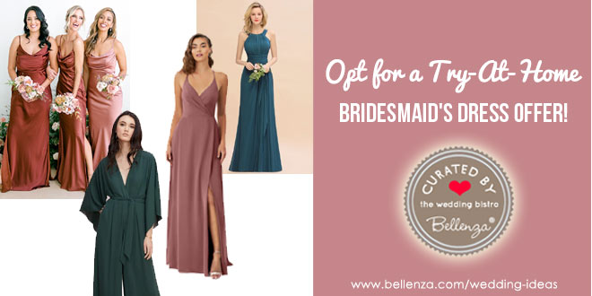 Virtual bridesmaids dress options for kits