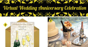 Virtual Wedding Anniversary Celebration