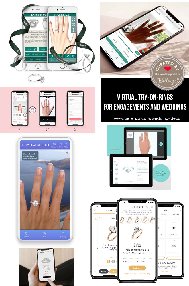 Virtual Try-On-Rings for Engagements and Weddings