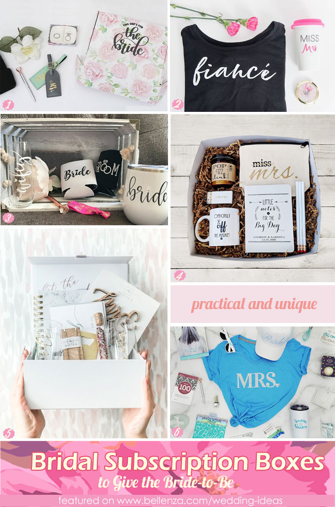 Bridal Subscription Boxes to Give the Bride-to-Be