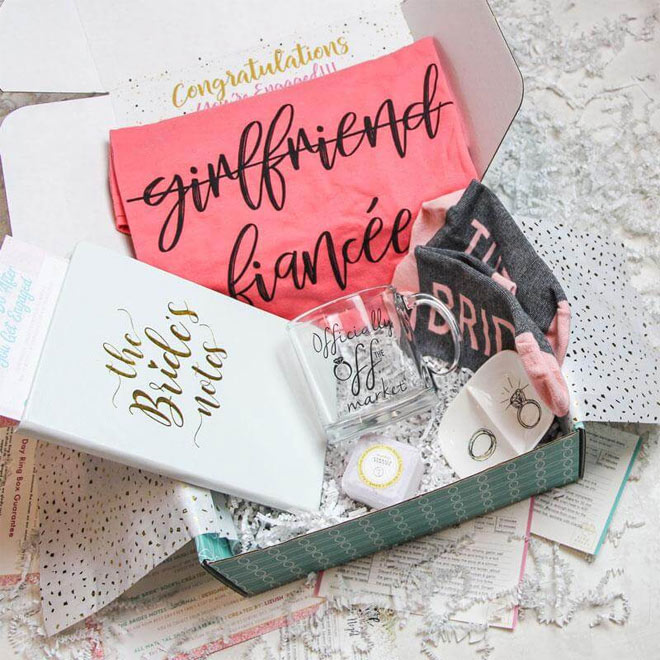 Bridal Box Packages - from The Ring Boxes