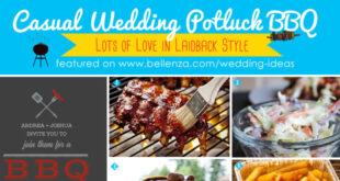 Casual Wedding Potluck BBQ