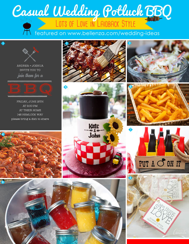 """""""I Do"""" BBQ Ideas from Food to Favors"""