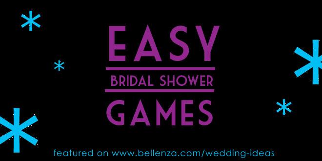 Simple DIY Bridal Shower Games
