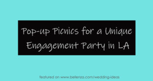 Planning a picnic engagement party in Los Angeles