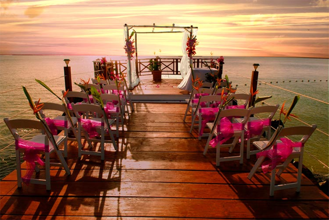 Calabash Cove Resort and Spa Wedding Ceremony Location