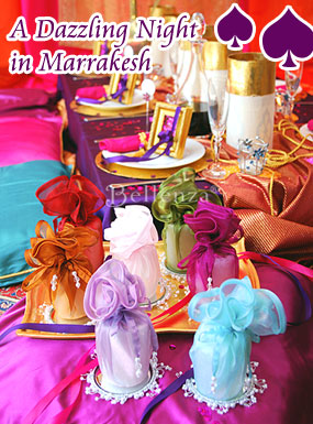 Moroccan-inspired tablescape