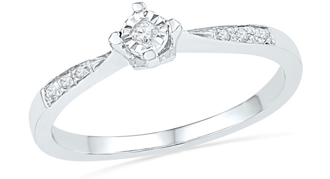 Diamond Accent Promise Ring from Zales