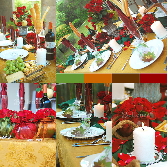 Fall Wedding Tablescape Styling Tips