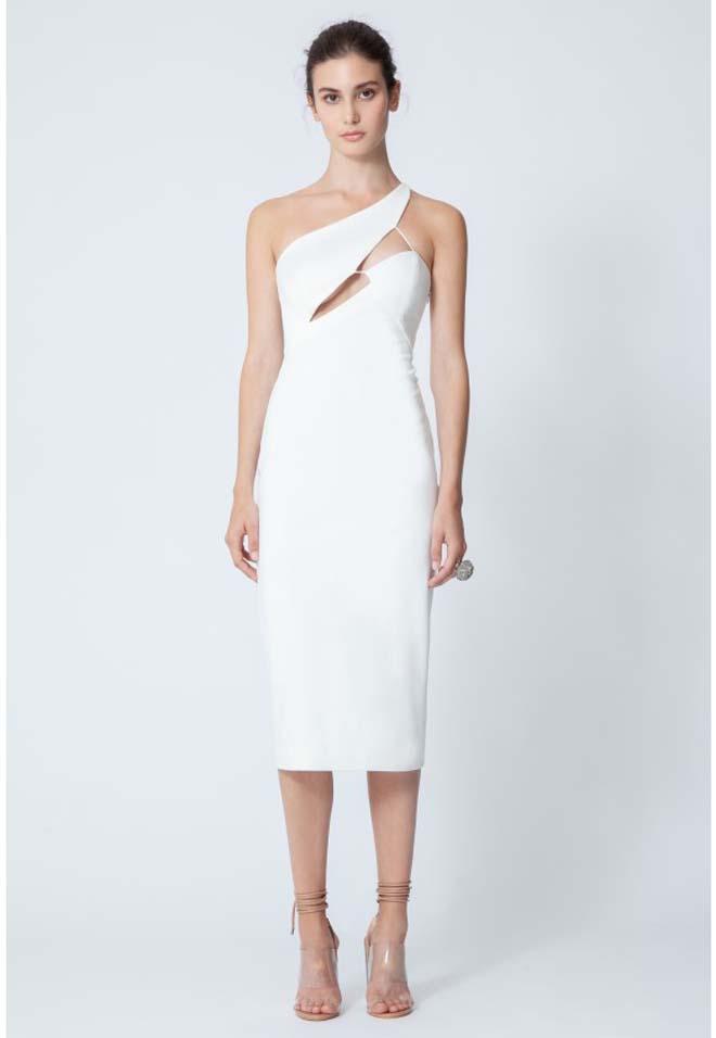 Pembroke Structured Midi Dress