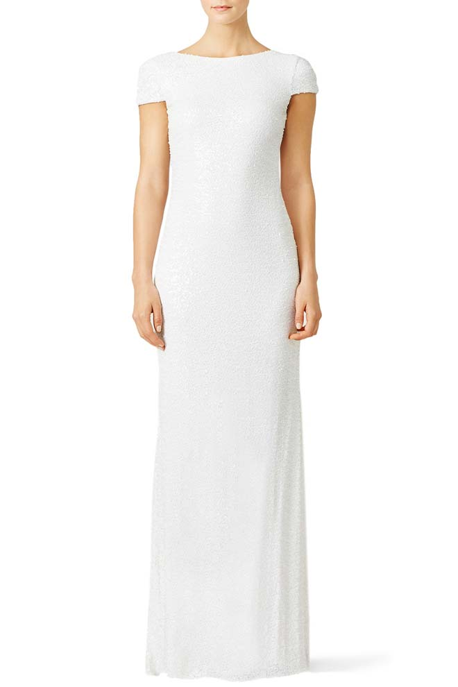 White Award Winner Gown