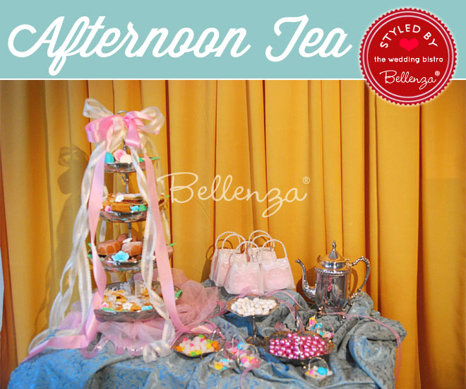 Afternoon Tea Reception with a Victorian Flair