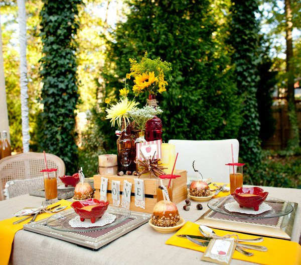 Styling by Chris Nease, featured on Hostess with the Mostess.