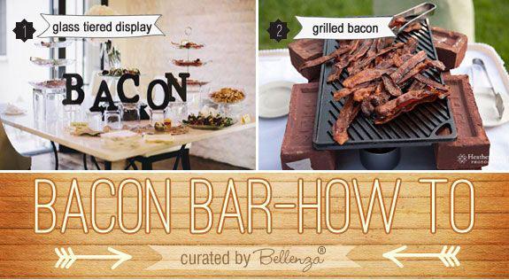 Bacon wedding food