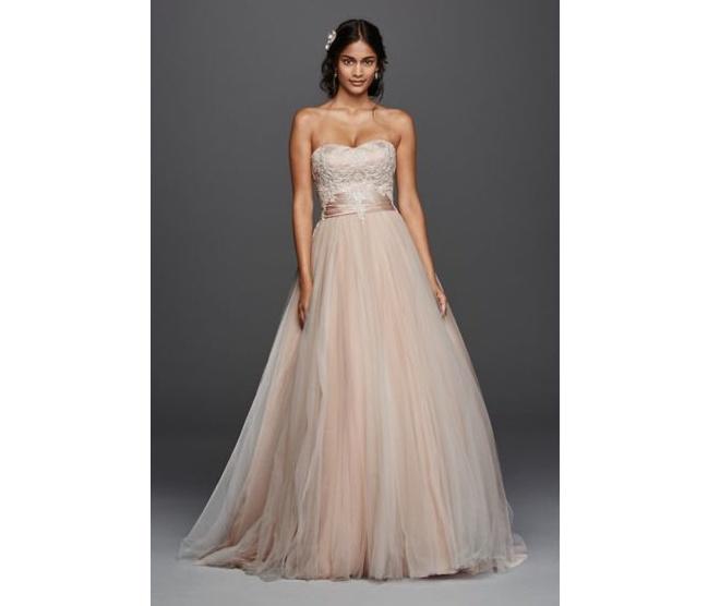 Jewel wedding dress via David's Bridal