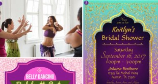 Belly Dancing Bachelorette Party Theme