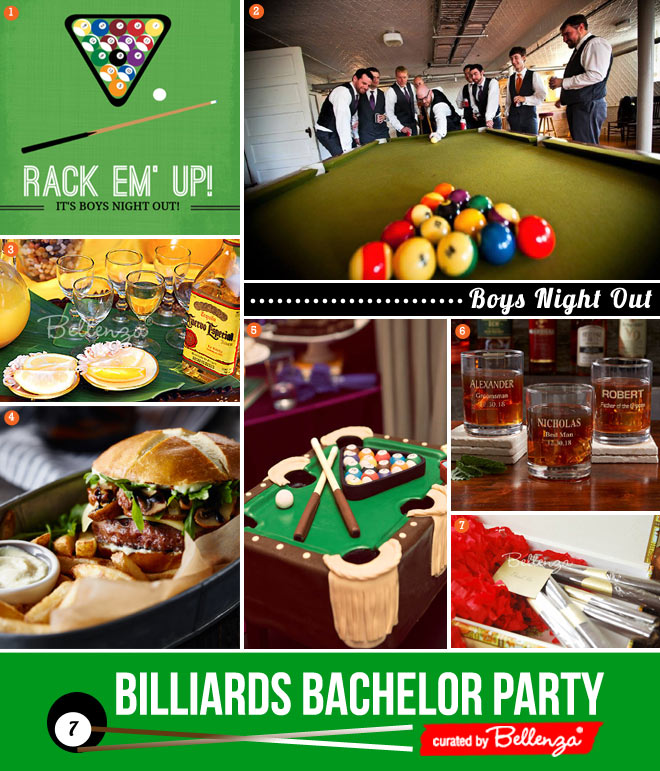 7 Ways to Plan a Billiards Bachelor Night with the Boys!