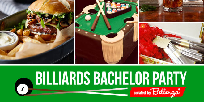 Billiards bachelor night party ideas