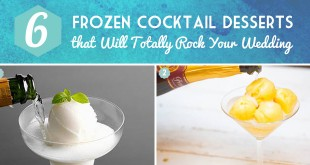 Frozen Cocktail Desserts Curated by Bellenza.