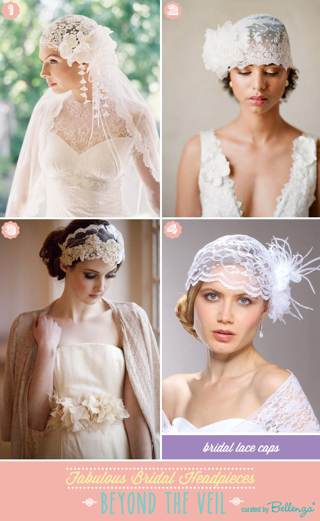 Bridal Lace Caps To Wear