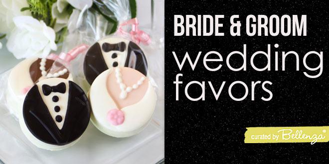 Edible Bride and Groom Favor Ideas