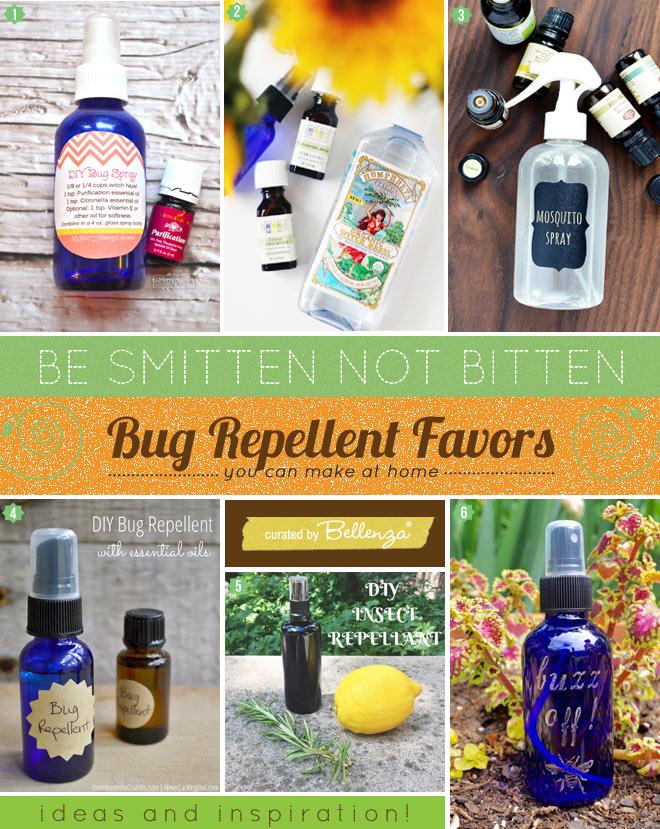 Bug repellent or spray recipes