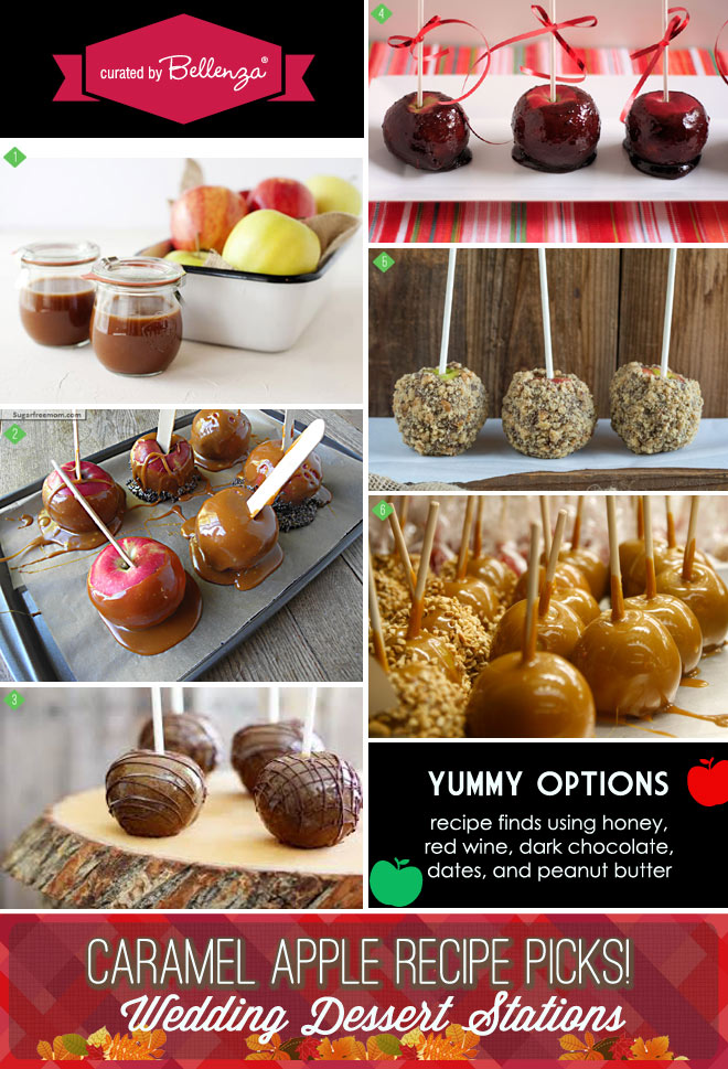 Caramel apple recipes with healthier options using honey to dark chocolate - less sugar