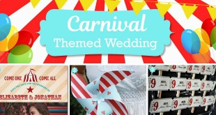 Carnival wedding theme ideas