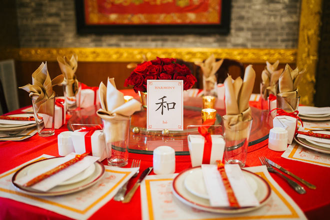 Styled by Yang Yang (then a bride-to-be) of Fortune Goodies