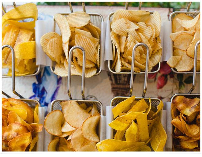 Chips in fryers   Photo via Meetings Imagined